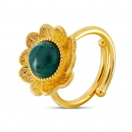 Bague Flower turquoise