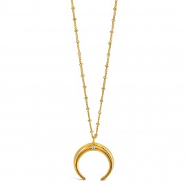 Collier Lune d'or