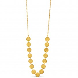 Collier Rond d'or