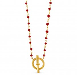 Collier Marin Rouge