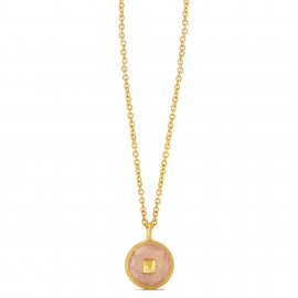 Collier Erica Quartz Rose