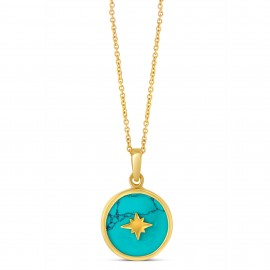 Collier Moonlight Turquoise