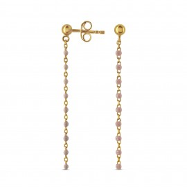 Boucle d'oreille Glamour Rose